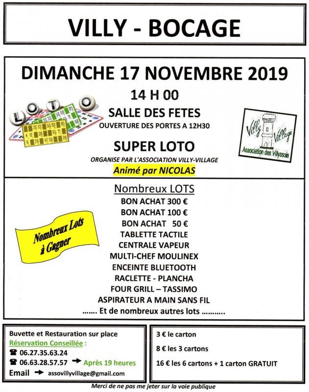 Nathalie flyer loto format a4 1